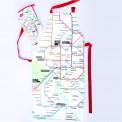Delantal plano Metro de Madrid