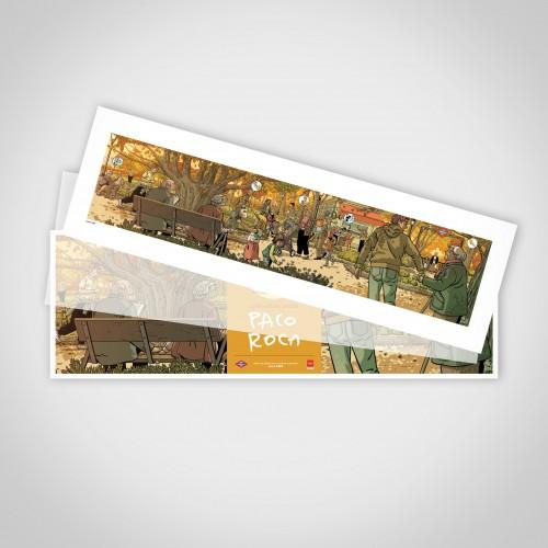 """Artwork """"Gracias Abuelos"""" Paco Roca  limited edition"""